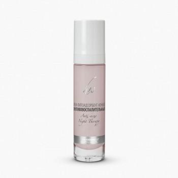 Крем липоадсорбент ночной противовоспалительный для проблемной жирной кожи Premium