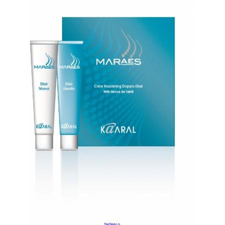Восстанавливающий эликсир для окрашенных волос Maraes Color Nourishing Doppio Elixir