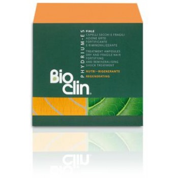 Ампулы укрепляющие и насыщающие минералами высокоэффективные для сухих и ломких волос BIOCLIN Phydrium-ES 10*7, 5 мл BioClin