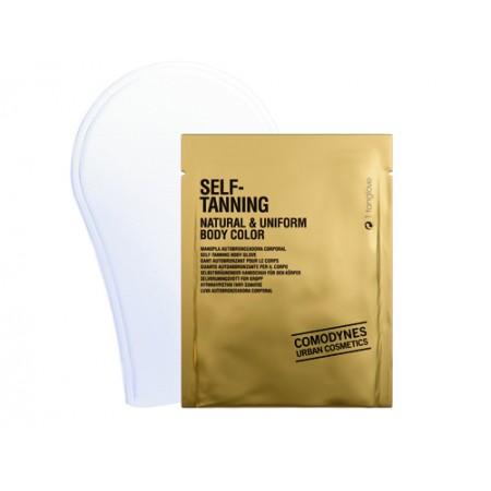 Рукавица-автозагар для тела (натуральный ровный цвет) 1 шт
