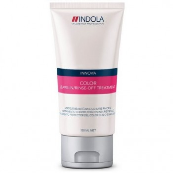 Маска для окрашенных волос Innova Color Leave-In/Rinse-Off Treatment Indola Professional