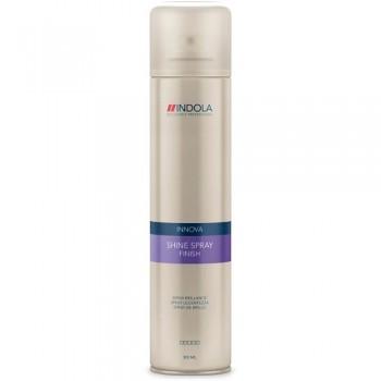 Спрей-блеск для волос в аэрозольной упаковке Shine Spray Finish Indola Professional