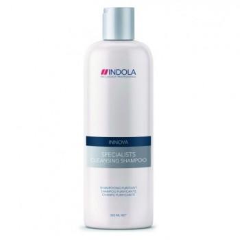 Шампунь для волос очищающий Specialists Cleansing Shampoo Indola Professional