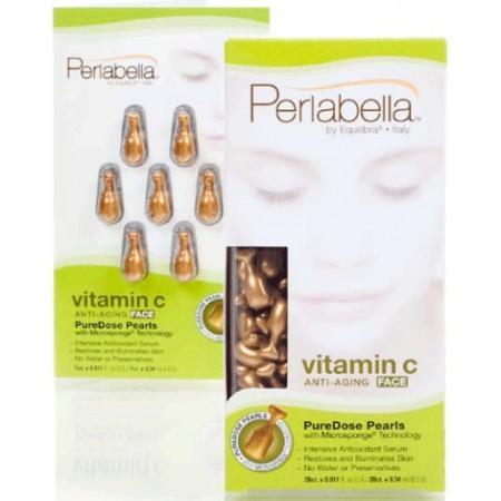 Капсулы для лица антивозрастные с витамином С 28 шт