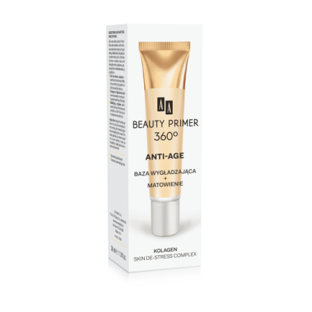 AA Beauty Primer 360° Разглаживающая и матирующая основа под макияж AA Oceanic