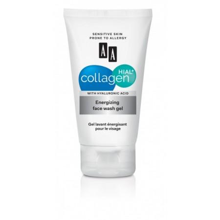 Collagen Hial+ Энергизирующий гель для умывания лица AA Oceanic