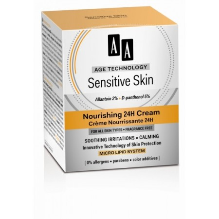 Age Technology Sensitive Skin Питательный крем 24Н AA Oceanic