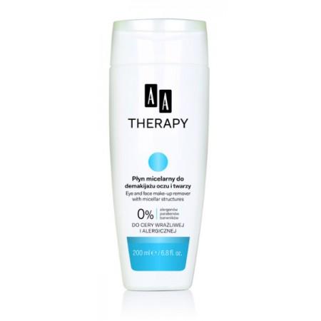 AA THERAPY Мицеллярная жидкость для демакияжа глаз и лица