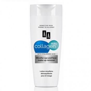 AA Collagen Hial+ Мицеллярная  жидкость для снятия макияжа с глаз и лица AA Oceanic