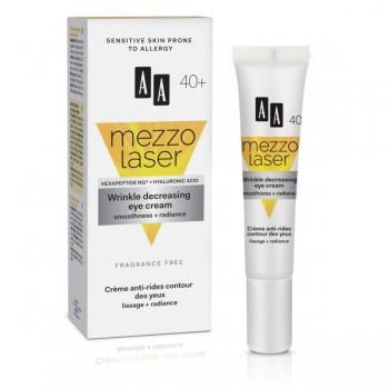 Mezzolaser 40+ Крем для век против морщин разглаживание+сияние AA Oceanic
