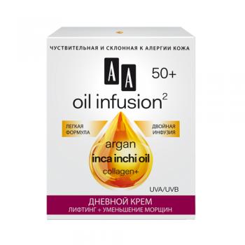 "Oil Infusion2 50+ Дневной крем ""Лифтинг + Уменьшение морщин"" AA Oceanic"