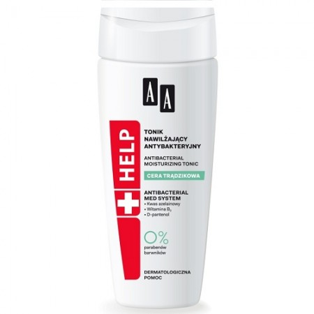 AA Help Acne Skin Антибактериальный увлажняющий тоник
