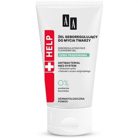 AA Help Acne Skin Гель себорегулирующий для умывания лица