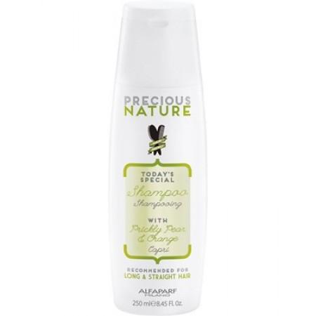 Шампунь капри для длинных и прямых волос Precious Nature Shampoo For Long&Straight Hair