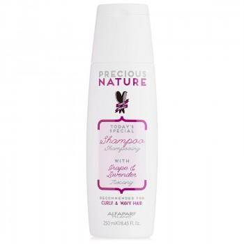 Шампунь для кудрявых и вьющихся волос Precious Nature Shampoo For Curly&Wavy Hair Alfaparf