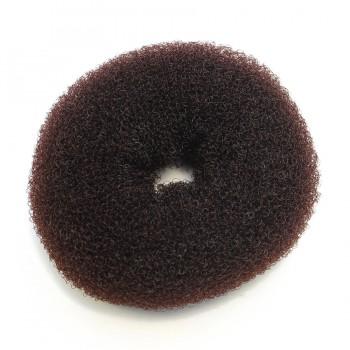 Резинка для объемного пучка коричневая Ameli