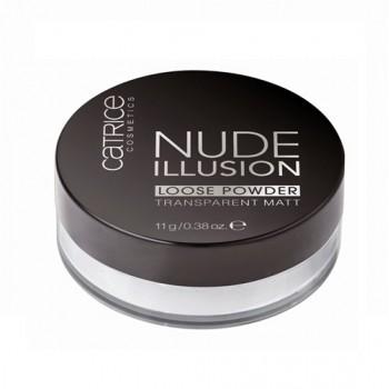 Пудра рассыпчатая прозрачная Nude illusion Catrice