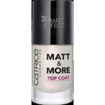 Покрытие матовое для ногтей Matt & More Catrice