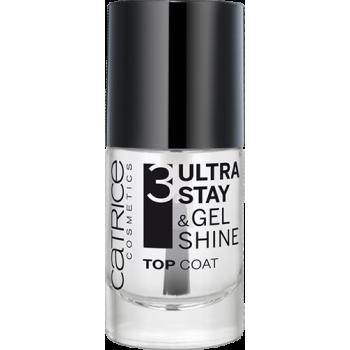 Покрытие верхнее для ногтей Ultra Stay & Gel Shine Catrice