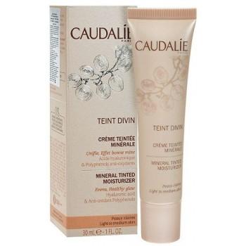 Тонирующий крем с минералами Teint Divin mineral tinted moisturizer Caudalie