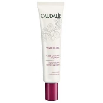 Флюид матирующий увлажняющий Vinosource moisturizing matifying fluid Caudalie
