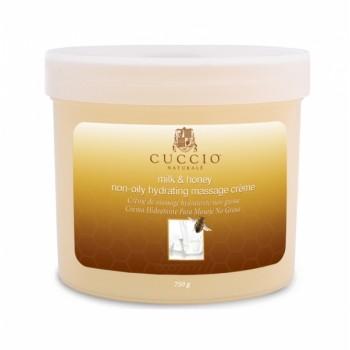 """Увлажняющий массажный крем для рук, ног и тела """"Мед и молоко"""" Cuccio"""