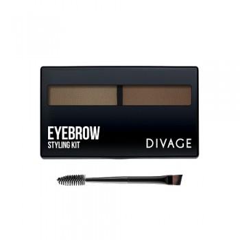 """Набор для моделирования формы бровей """"Eyebrow Styling Kit"""" Divage"""