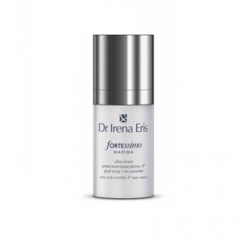 Ночной ультра крем против морщин для кожи вокруг глаз и век Fortessimo Maxima Anti-wrinkle Ultra Cream Eye and Eyelid Area Dr Irena Eris