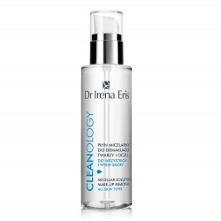 Мицеллярная вода для снятия макияжа лица и глаз для всех типов кожи Cleanology Micellar Solution Make-up Removal Face & Eye Dr Irena Eris
