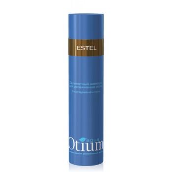 Деликатный шампунь для волос увлажняющий Otium Aqua  Estel Professional
