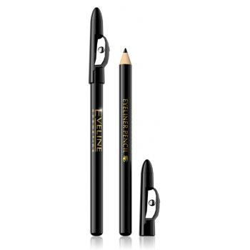 Контурный карандаш с точилкой для макияжа глаз Eyeliner Pencil Eveline