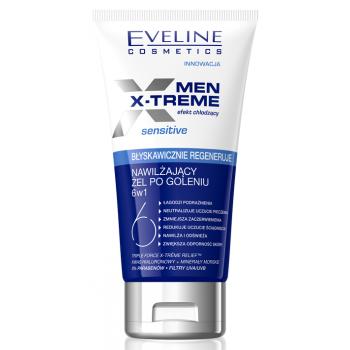 Увлажняющий гель после бритья 6в 1 Men X-Treme Eveline