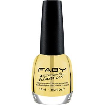 Масло для ногтей и кутикулы Nails & Cuticles Fitness oil Faby