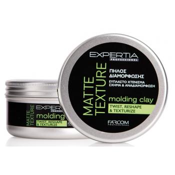 Текстурирующая глина для волос с матирующим эффектом Expertia Farcom