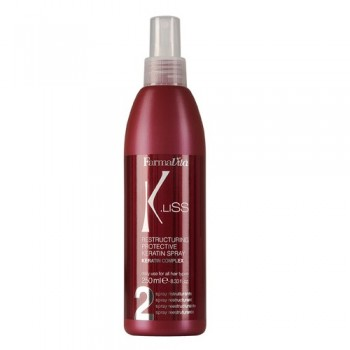 Флюид для волос реструктуризирующий защитный с кератином K.Liss FARMAVITA