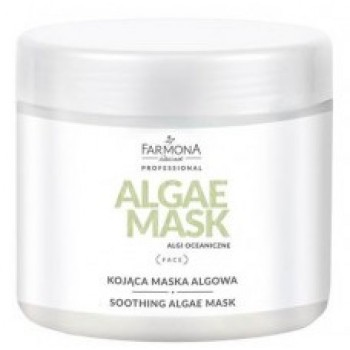 Algae Mask Успокаивающая альгинатная маска для кожи лица и шеи  Farmona Professional