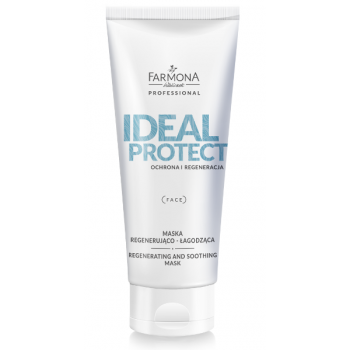 Ideal protect Восстанавливающая и успокаивающая маска для лица Farmona Professional