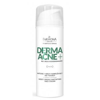 Dermaacne+ Увлажняющий матирующий крем  для лица  Farmona Professional