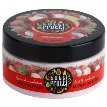 Tutti Frutti Личи & Рамбутан Масло для тела Farmona
