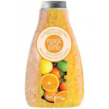 Magic Time Цитрусовая Эйфория Соль для ванны  Farmona