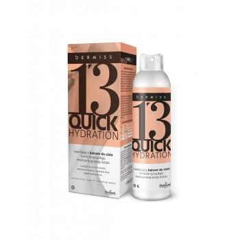 Увлажняющий лосьон для тела в спрее Dermiss 13 Quick Hydration  Farmona