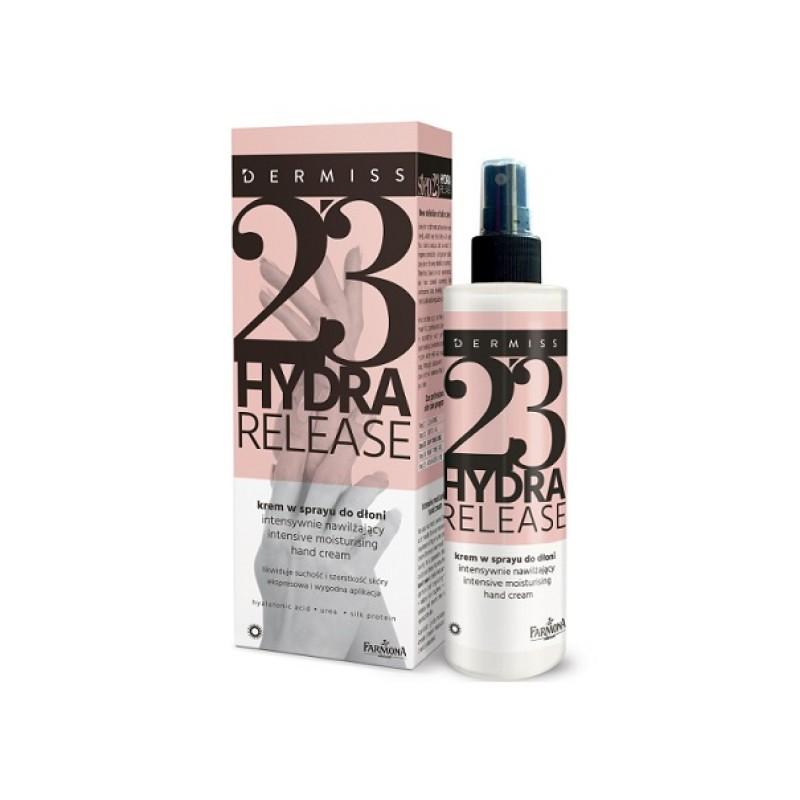 DERMISS 23 HYDRA RELEASE Интенсивно увлажняющий крем для рук