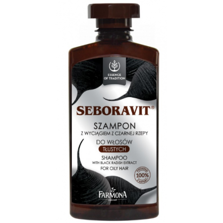 Seboravit Шампунь для волос с черной редькой Farmona