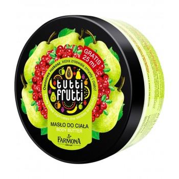 Tutti Frutti Груша & Клюква Масло для тела Farmona