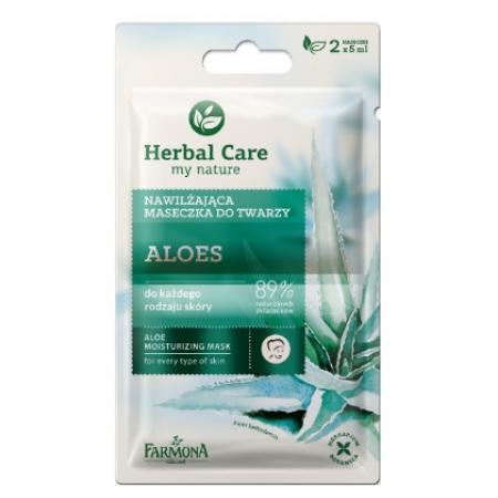 Herbal Care Увлажняющая маска для лица Алоэ Farmona