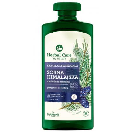 Herbal Care Освежающий гель для ванны и душа Гималайская сосна и мед мануки Farmona