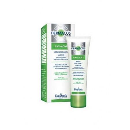 Глубоко очищающий гель для умывания Dermacos Anti-Acne Deep Cleansisng gel with bioactiv mud extract