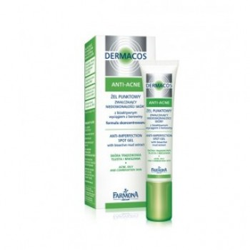 Dermacos Anti-Acne Устраняющий проблемы кожи гель точечного применения Farmona