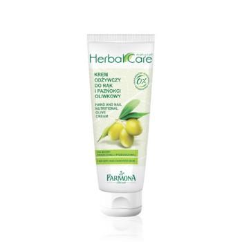 Herbal Care Питательный крем для рук и ногтей Оливка Hand And Nail Nutritional olive cream Farmona