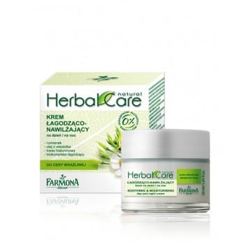 Herbal Care Успокаивающе – увлажняющий крем дневной/ночной Soothing and moisturising day and night cream Farmona